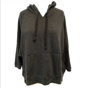 American Eagle Outfitters Charcoal Gray Hoodie